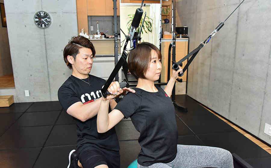 POINT03 CONDITIONING & TRAINING
